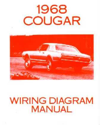 1968 mercury cougar wiring diagrams 77 Dodge Truck Wiring Diagram