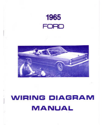 1965 FORD GALAXIE Wiring Diagrams