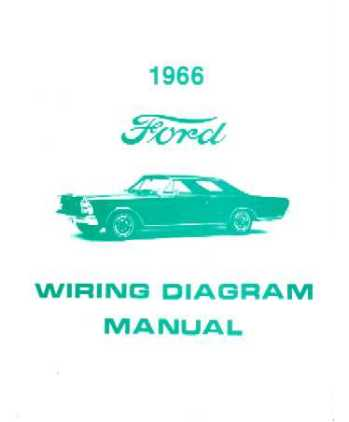 1966 FORD GALAXIE Wiring Diagrams