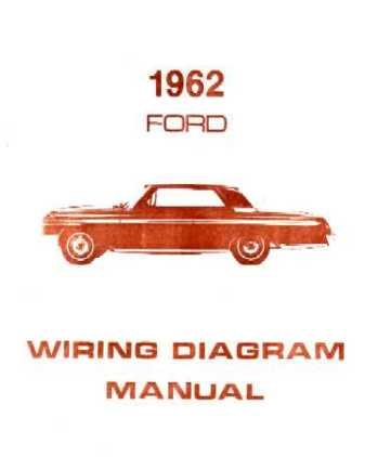 1962 ford galaxie wiring diagrams
