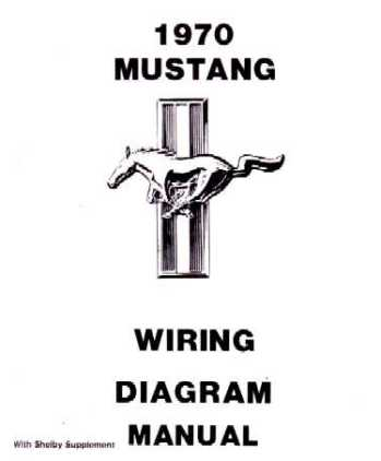 1970 FORD MUSTANG Wiring Diagrams