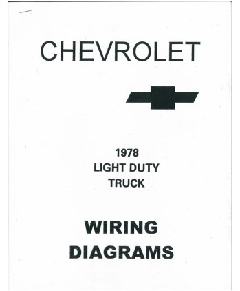 1978 chevrolet truck wiring diagrams