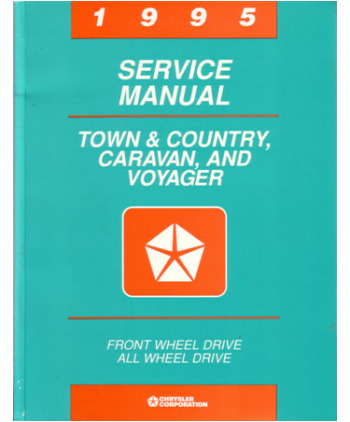 2001 chrysler town country service diagnostic manual