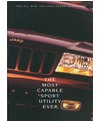 1999 JEEP GRAND CHEROKEE Sales Brochure [eb10259N]