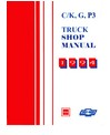 1994 CHEVROLET & GMC C/K 10-30 LIGHT DUTY TRUCK Body, Chassis & Electrical Service Manual