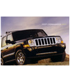 2006 JEEP COMMANDER Sales Brochure & Paint Chips