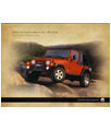 2005 JEEP WRANGLER Accessories Sales Brochure