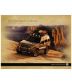 2005 JEEP LIBERTY Accessories Sales Brochure
